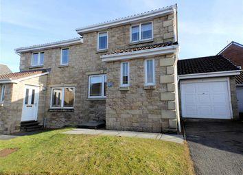 Thumbnail 3 bed semi-detached house for sale in Quantock Drive, Lindsayfield, East Kilbride