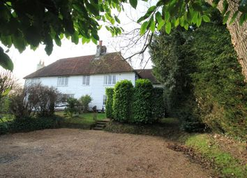Thumbnail 3 bed semi-detached house for sale in Hawkhurst Road, Hartley, Cranbrook, Kent