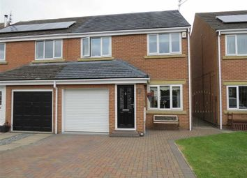 Thumbnail 3 bed semi-detached house for sale in Watcombe Close, Usworth Hall, Washington