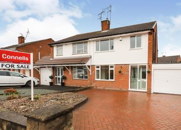Thumbnail 3 bed semi-detached house for sale in Milldale Crescent, Fordhouses, Wolverhampton