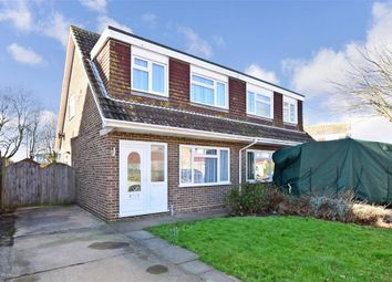 Thumbnail 3 bed semi-detached house for sale in Chestnut Drive, Broadstairs, Kent