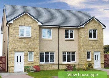 Thumbnail 3 bedroom semi-detached house for sale in The Arrochar, Off Oakley Road, Saline, Dunfermline, Fife