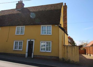 Thumbnail 4 bed semi-detached house to rent in Station Road, Felsted, Dunmow
