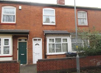 Thumbnail 3 bedroom terraced house to rent in Holly Avenue, Off Runcorn Road, Balsall Heath