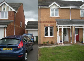 Thumbnail 2 bed semi-detached house to rent in Gavin Close, Thorpe Astley, Braunstone, Leicester