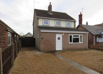 Thumbnail 3 bed detached house for sale in Inhams Road, Whittlesey, Peterborough