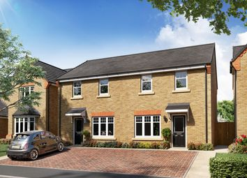 """Thumbnail 3 bed semi-detached house for sale in """"Plot 21 - The Bamburgh"""" at Ollerton Road, Edwinstowe, Nottinghamshire"""
