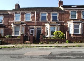 Thumbnail 4 bed terraced house to rent in Monks Road, Exeter