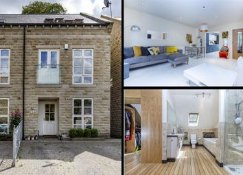 Thumbnail 4 bedroom end terrace house for sale in The Park, Kirkburton, Huddersfield