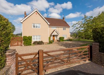 Thumbnail 5 bed detached house for sale in Alpheton, Sudbury, Suffolk
