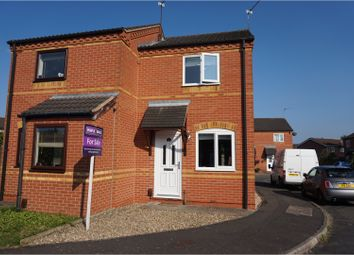 Thumbnail 2 bedroom semi-detached house for sale in Clipstone Gardens, Wigston