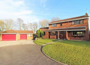 Thumbnail 5 bed detached house for sale in Wallbrook Avenue, Billinge, Wigan