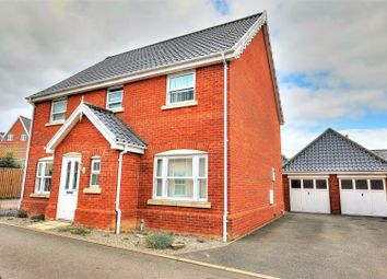 Thumbnail 4 bedroom detached house for sale in Crown Meadow, Norwich