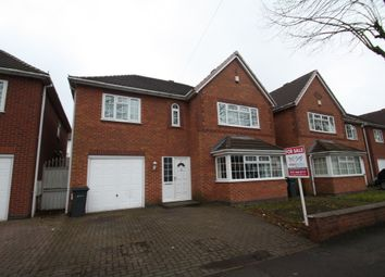 Thumbnail 5 bedroom detached house for sale in Gibson Road, Birmingham