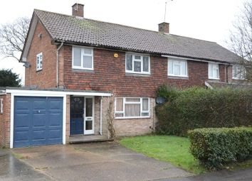 Thumbnail 3 bedroom semi-detached house for sale in Ashridge Road, Wokingham, Berkshire