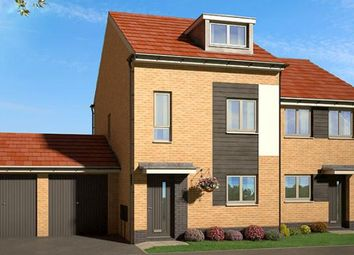 "Thumbnail 3 bed property for sale in ""The Oakhurst At Yew Gardens, Edlington"" at Broomhouse Lane, Edlington, Doncaster"