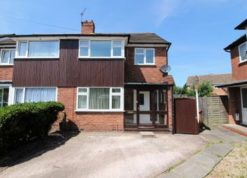Thumbnail 3 bed semi-detached house for sale in Balmoral Drive, Willenhall