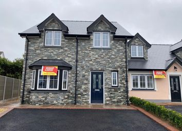 Thumbnail 3 bed semi-detached house for sale in Clos Y Fedw, Rhydargaeau, Carmarthen