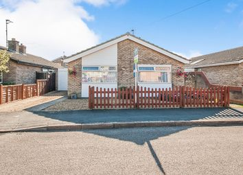 Thumbnail 3 bed detached bungalow for sale in Saxon Road, Whittlesey, Peterborough