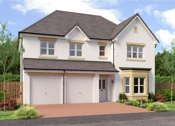 "Thumbnail 5 bed detached house for sale in ""Buttermere"" at Auchinleck Road, Robroyston, Glasgow"