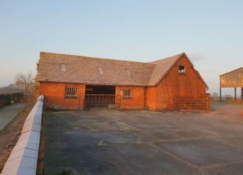 Thumbnail 7 bed barn conversion for sale in Residential Development Barns At Redbank Farm, Maker Lane, Hoar Cross, Staffordshire