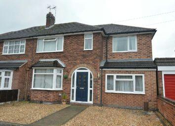 Thumbnail 4 bedroom semi-detached house for sale in Westdale Avenue, Glen Parva, Leicester