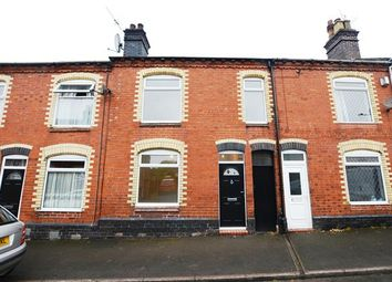 Thumbnail 3 bed terraced house for sale in Abbey Street, Silverdale, Newcastle