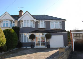 Thumbnail 5 bed semi-detached house for sale in Havering Drive, Gidea Park, Romford