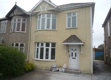 Thumbnail 3 bed semi-detached house to rent in Tresawls Road, Truro, Cornwall