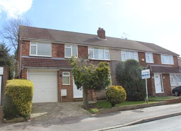 Thumbnail 4 bed semi-detached house to rent in Lulworth Avenue, Goffs Oak, Waltham Cross