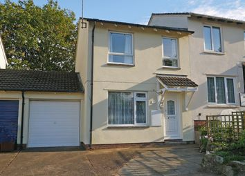Thumbnail 3 bed semi-detached house for sale in Bilbie Close, Cullompton