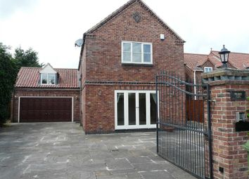 Thumbnail 5 bed detached house to rent in Cross Lane, Collingham, Newark
