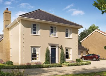 Thumbnail 4 bed detached house for sale in The Burdock, Reach Road, Burwell, Cambridgeshire