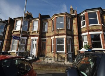 Thumbnail 3 bed terraced house to rent in Elms Avenue, Ramsgate