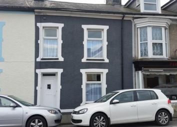 Thumbnail 3 bed terraced house for sale in New Street, Porthmadog, Gwynedd