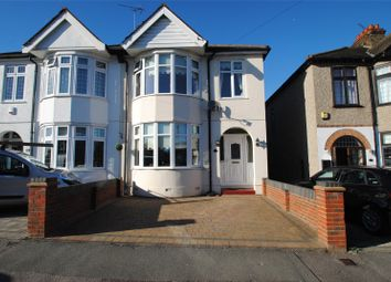 Thumbnail 3 bed semi-detached house for sale in Aldborough Road, Upminster, Essex