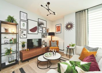 Thumbnail 1 bed flat for sale in Victoria Way, Charlton, London