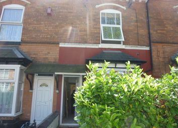 Thumbnail 3 bed terraced house to rent in Grosvenor Road, Handsworth, Birmingham