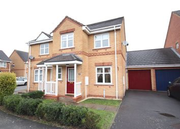 Thumbnail 3 bed semi-detached house to rent in Falaise Way, Hilton, Derby
