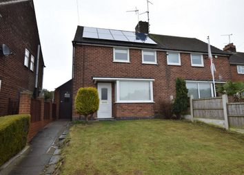 Thumbnail 2 bed semi-detached house for sale in The Green, Alfreton, Derbyshire
