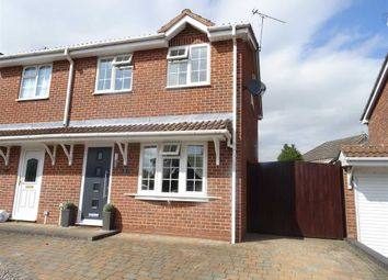 Thumbnail 3 bed semi-detached house for sale in Cherry Tree Drive, Barwell, Leicester