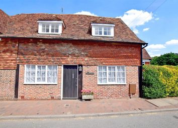 3 bed semi-detached house for sale in The Street, Sissinghurst, Cranbrook, Kent TN17