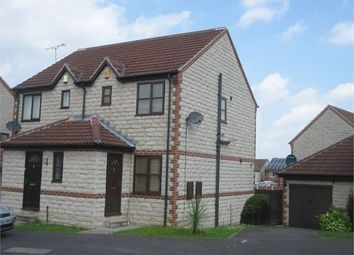 Thumbnail 2 bed semi-detached house to rent in Highridge Close, Conisbrough, Doncaster
