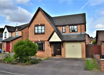 Thumbnail 4 bed detached house for sale in Byron Way, Stamford