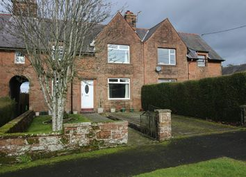 Thumbnail 3 bed terraced house for sale in Victoria Park, Lockerbie