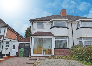Thumbnail 3 bed semi-detached house for sale in New Inns Lane, Rednal, Birmingham