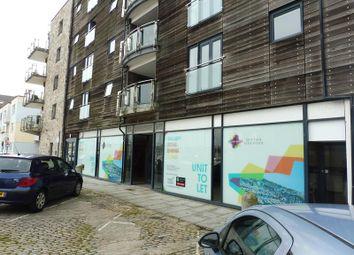 Thumbnail Retail premises to let in Century Quay, Vauxhall Street, Sutton Harbour, Plymouth, Devon