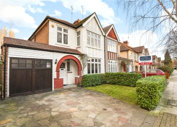 Thumbnail 3 bed semi-detached house for sale in Barrow Point Avenue, Pinner, Middlesex