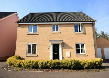 Thumbnail 4 bed detached house to rent in Swallows Close, Hollesley, Woodbridge