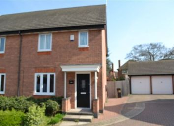 Thumbnail 3 bed semi-detached house to rent in Cara Close, Stoneygate, Leicester